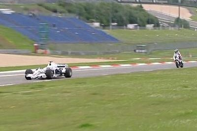 Troy Corser and Nick Heidfeld swap BMWs and hit the Nürburgring track