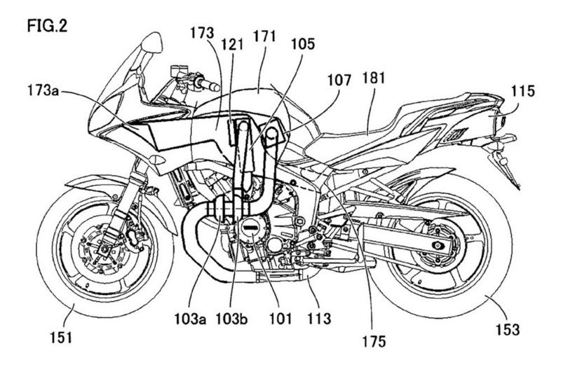 Yamaha's newly patented turbo-diesel engine to be developed