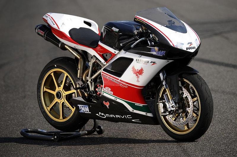 $144,000 Ducati 1198S by Red Fenix