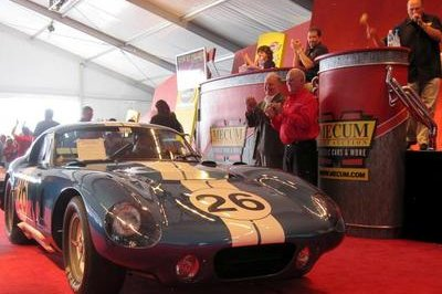 1965 Shelby Daytona Cobra Coupe fetches a record $7.25 Million at the Mecum Auction