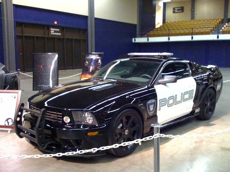 "2005 Saleen Mustang aka ""Barricade"" is a steal selling for only $36,000"
