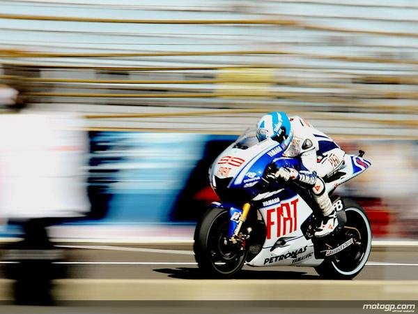 2009 motogp race report jorge lorenzo hits the spot in indianapolis picture