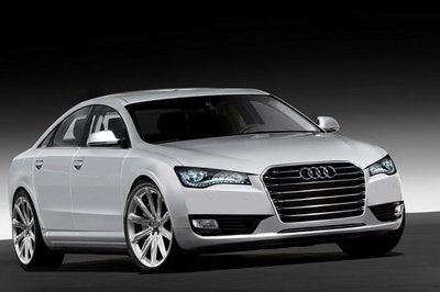 2010 Audi A8 rendered again