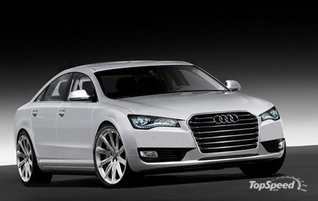 Audi is planning to unveil a redesigned Audi A8 early in 2010 at the North