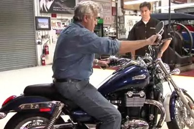 2010 Triumph Thunderbird enters Jay Leno's Garage