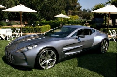 Aston Martin One-77 makes first U.S. appearance at Pebble Beach