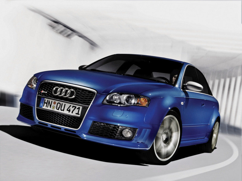 Next generation Audi RS4 will debut in 2010