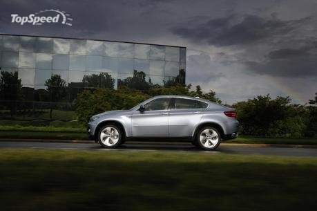 of the BMW ActiveHybrid X6