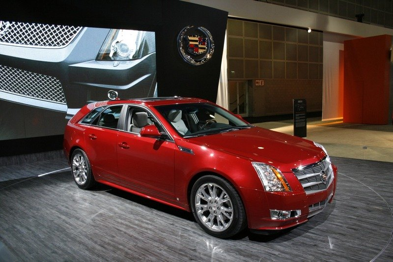Cadillac CTS V Sport Wagon Coming In March 2010