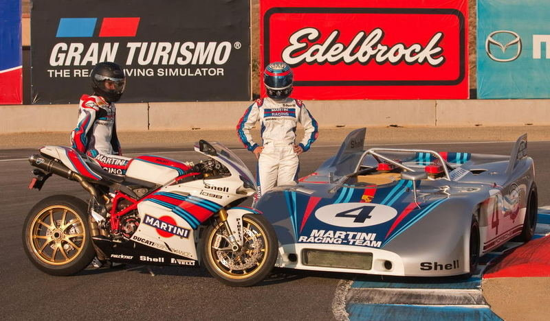Ducati 1098S Martini Racing picture update