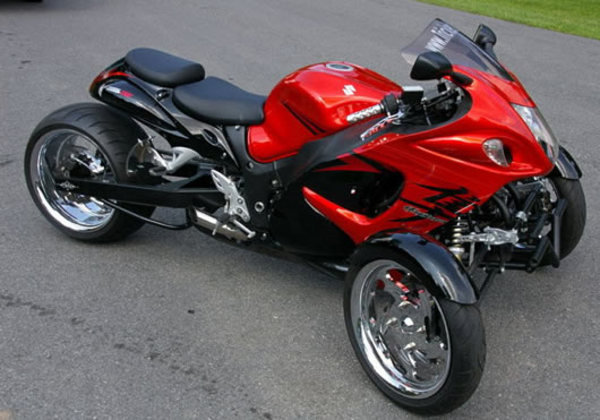 ebay find of the day 2008 suzuki hayabusa reverse trike. Black Bedroom Furniture Sets. Home Design Ideas
