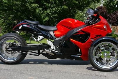eBay find of the day: 2008 Suzuki Hayabusa Reverse Trike