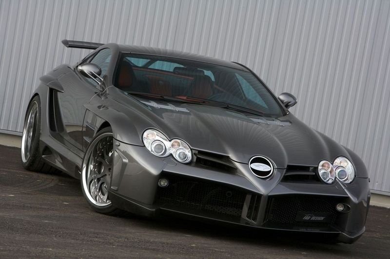 FAB DESIGN modifies SLR McLaren