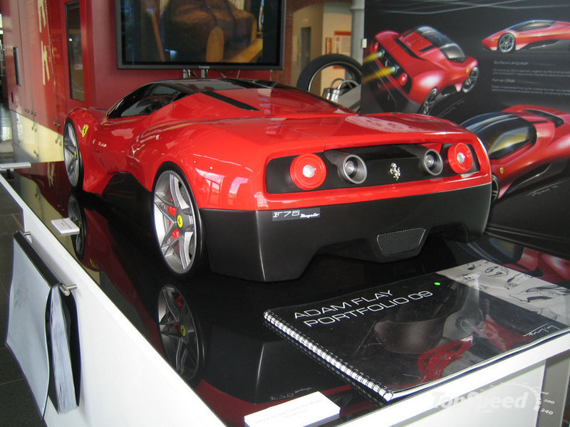 Ferrari F75 Mugello Concept Car designed by Adam Flay