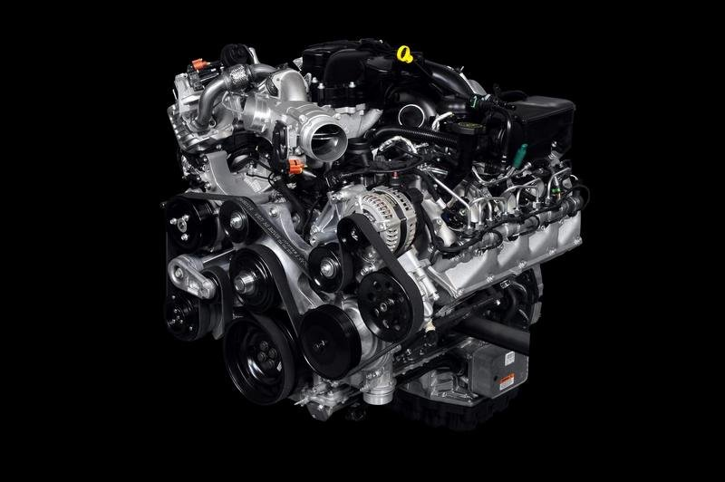Ford releases details about the new 6.7 Liter Power Stroke Turbocharged Diesel V8