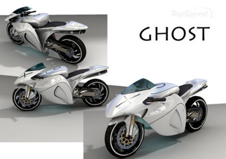 2. Ghost Motorcycle Concept