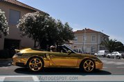 Golden Porsche 996 Turbo rides again - image 314604