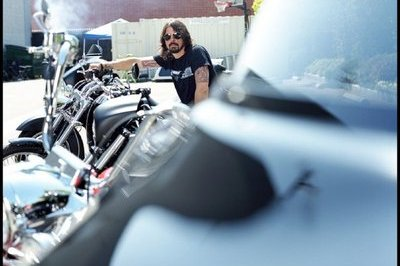 Motorcycles and Drums in Harley-Davidson's 'Everything Sonic' commercial starring Dave Grohl
