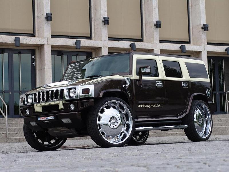 Hummer H2 by GeigerCars fit for a Pimp