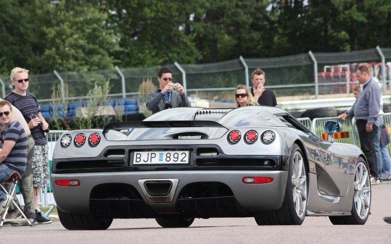 Koenigsegg CCR Evolution sighted at the 2009 Action Meet in Sweden