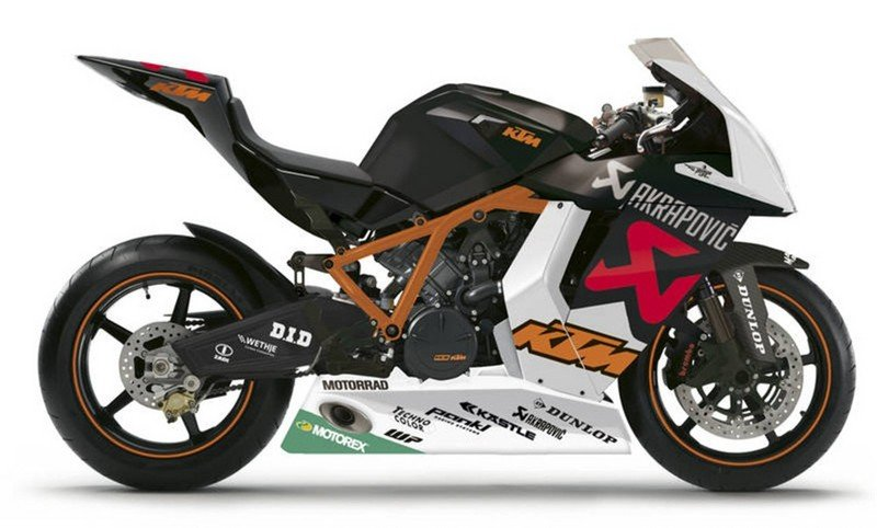 KTM RC8 R McWilliams Limited Edition
