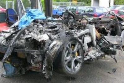 Lamborghini Gallardo SE Destroyed By Fire At The Nürburgring
