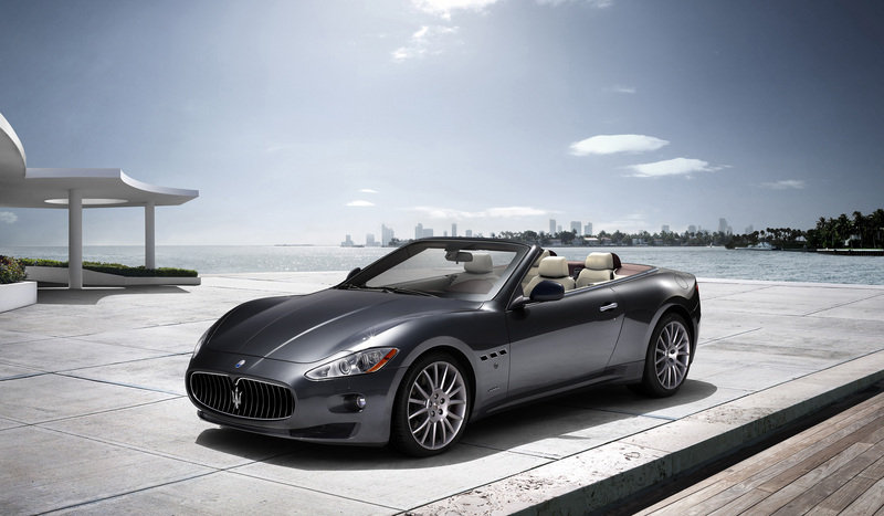 Maserati set to unveil GranCabrio sports car at the Frankfurt Motor Show