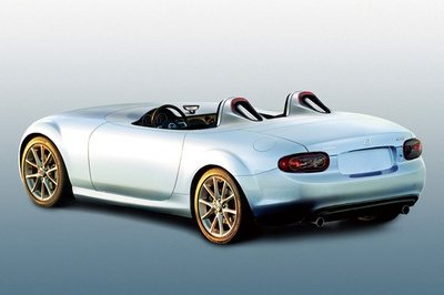 Mazda MX-5 Superlight to be unveiled at the Frankfurt Motor Show in line with the brand's 20th anniversary