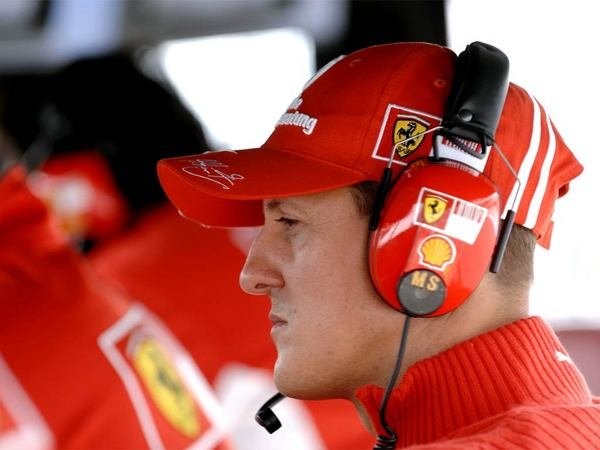 michael schumacher ends comeback attempt in a ferrari f1 car picture