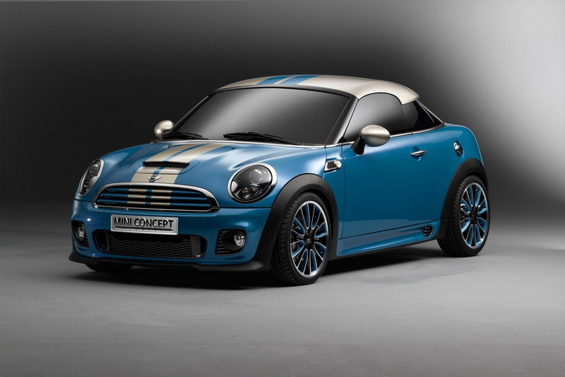 Mini Coupe platform to be used for future BMW-Toyota city cars