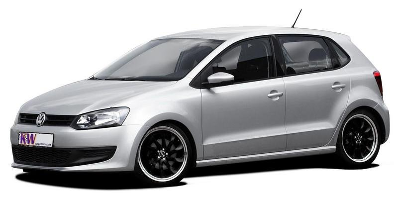 New Polo receives KW coilover suspensions