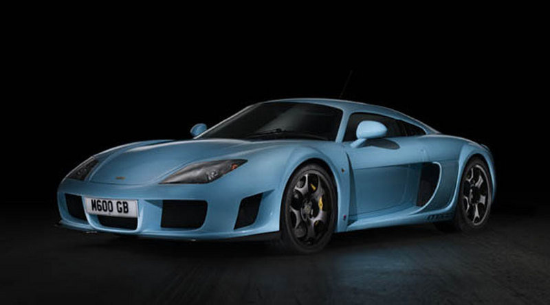 Noble releases first official photos of M600 supercar