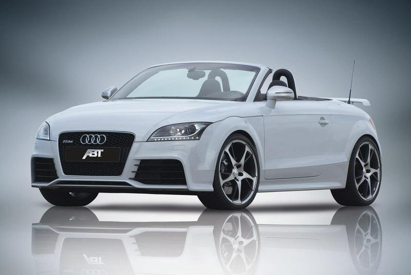 ABT tunes the Audi TT-RS to make 420 HP