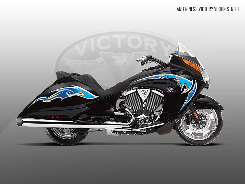 2010 Arlen Ness Victory Vision