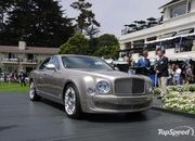 Bentley announces coupe and cabrio offspring of the Mulsanne - image 322963