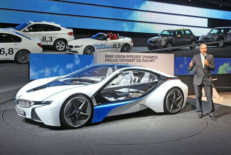 BMW Vision EfficientDynamics officially unveiled at Frankfurt preview event