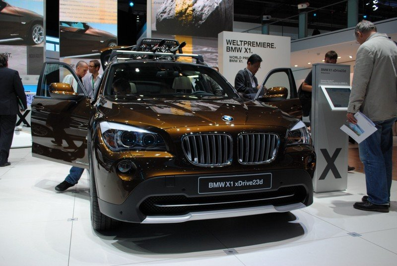 BMW X1 unveiled at Frankfurt Motor Show