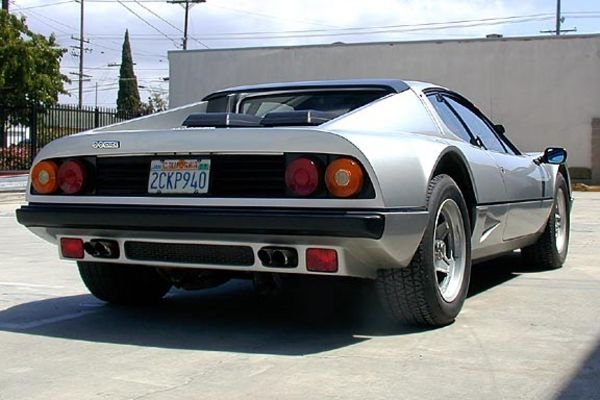 1981-1984 Ferrari 512 BBi - Top Speed
