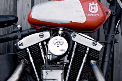 Harley-Davidson Sportster XLCH by WrenchMonkees