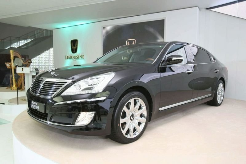 Hyundai Equus Stretch Edition not US bound?