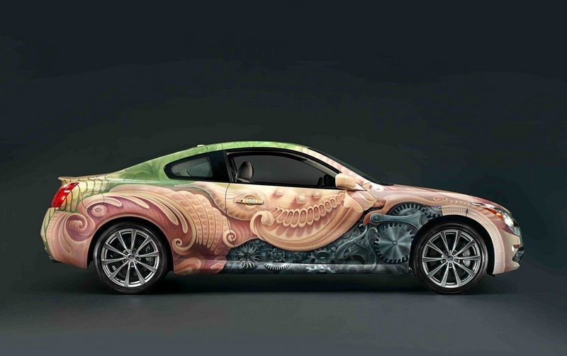 Infiniti partners with Cirque du Soleil to create one-of-a-kind G37