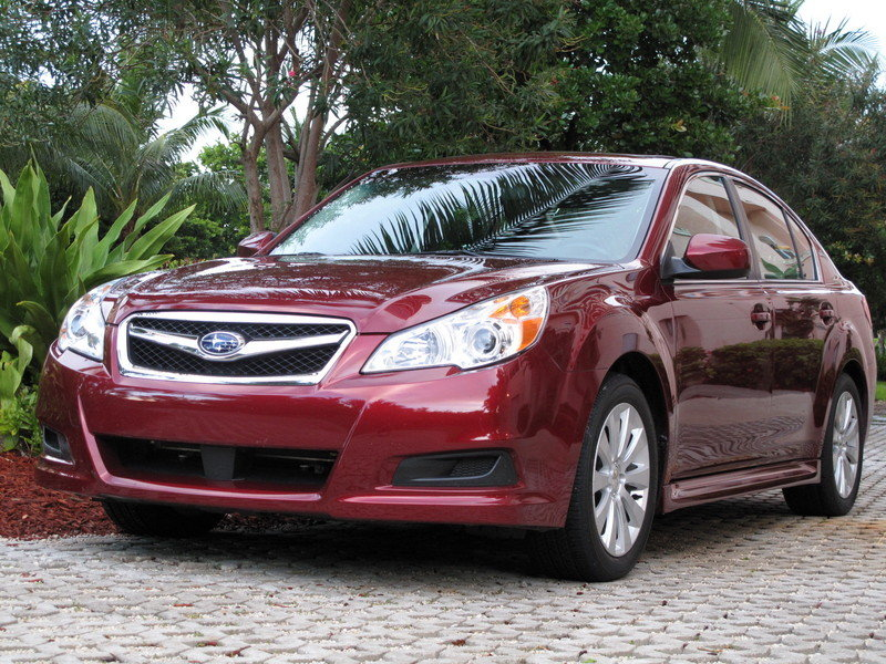 Initial thoughts: 2010 Subaru Legacy 3.6 R