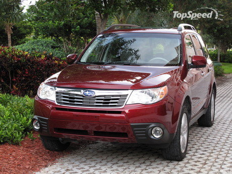 initial thoughts 2010 subaru forester 2.5x limited
