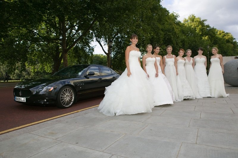 Maserati drives debutantes to Queen Charlotte's Ball