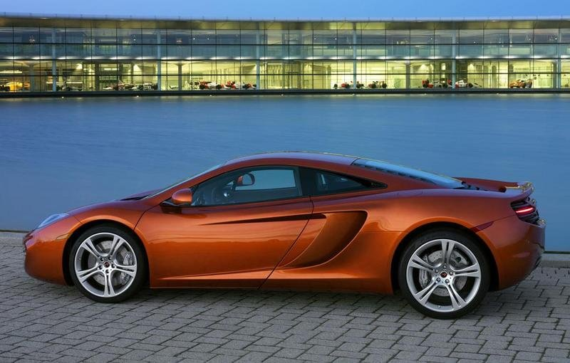 2011 McLaren MP4-12C Sport Side View