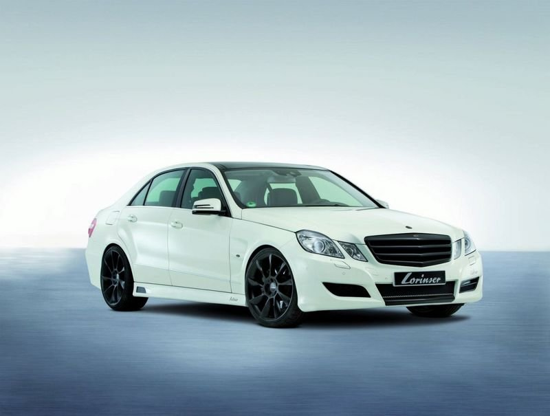 Mercedes E-Class Sedan by Lorinser