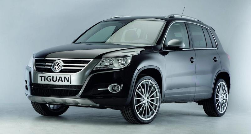 New Volkswagen Accessories for Tiguan