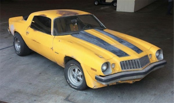 Original Bumblebee Camaro Is Going Up For Auction Car
