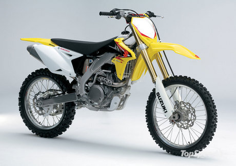 Suzuki made sure to miss no aspect when improving their RM-Z450 motocrosser