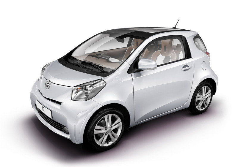 2009 Toyota iQ for Sports and iQ Collection